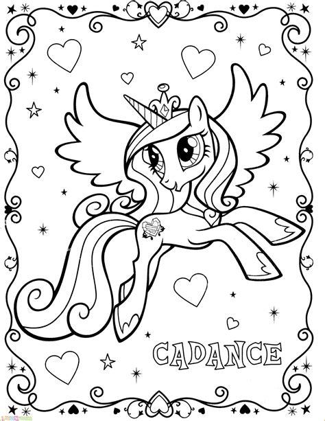 Dalam filim animasi my little poni : √29 Gambar Mewarnai My Little Pony Anak 2020 - Marimewarnai.com