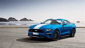 Wallpaper Ford Mustang, muscle car, blue, 2019 Cars, 4K, Cars & Bikes #18040