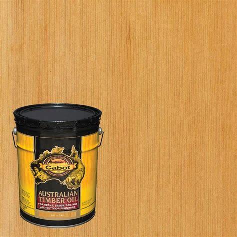 cabot  gal natural australian timber oil exterior wood