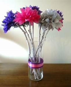 My DIY Tissue Paper Flower Wedding Centerpieces - My