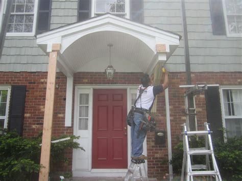 simple portico plans placement home building plans