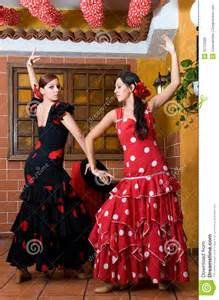 Traditional Flamenco Dresses Spain
