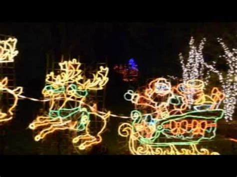 the lights before at the toledo zoo during the