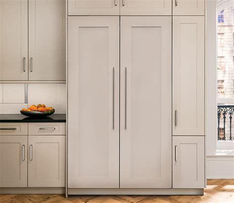integrated  column refrigerators monogram professional kitchens