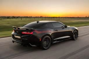 camaro vs mustang which is better hennessey 39 s quot exorcist quot chevrolet camaro zl1 set to terrorize hellcats motor trend