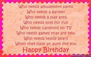 Birthday poems for aunt | Aunts | Happy birthday auntie ...