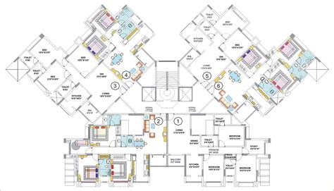 large house blueprints floor plans nancy thane mumbai residential property buy nancy apartment flat house