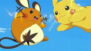 Dedenne y Pikachu - YouTube