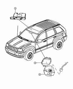 2011 Jeep Grand Cherokee Cover  Rain Sensor   Rain