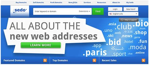 Sedo Domain Sedo Changes Commission Prices For Domains Sold At Its
