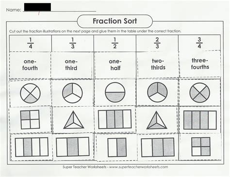 order fractions worksheet  oaklandeffect ordering fractions with different denominators worksheet
