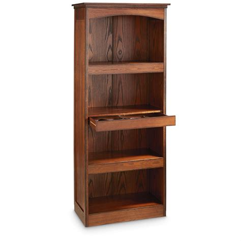 Bookcase Gun Safe by Castlecreek Gun Concealment Bookcase 671293 Living Room