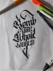 Beautiful Hand Lettering Calligraphy