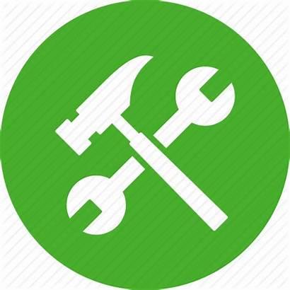 Icon Build Settings Project Repair Diy Hammer