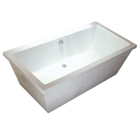 acrylic kitchen sinks kingston brass vtsq663422 white aqua 33 1 4 quot acrylic 1154