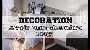 Déco Chambre Cosy : d coration avoir une chambre cosy youtube ~ Melissatoandfro.com Idées de Décoration