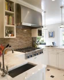 Backsplash With White Kitchen Cabinets Gray Kitchen Backsplash Transitional Kitchen Tish Key Interior Design