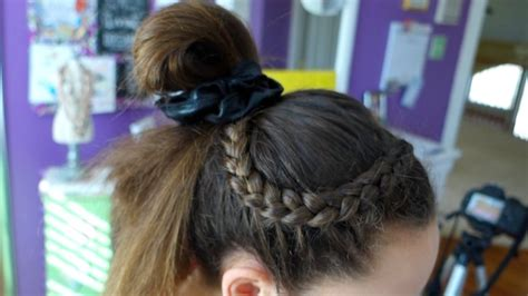 gymnastics meet hairstyles hairdoes