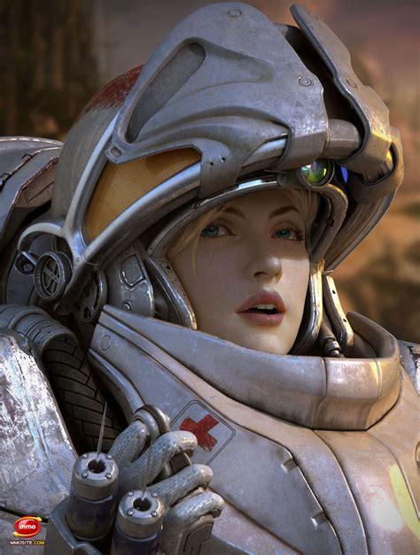Fanart Of Female Character Starcraft Ii Forum