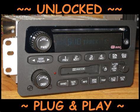 old car repair manuals 2001 chevrolet venture spare parts catalogs unlocked oem 2001 2005 chevy venture monte carlo cd cassette tape radio impala