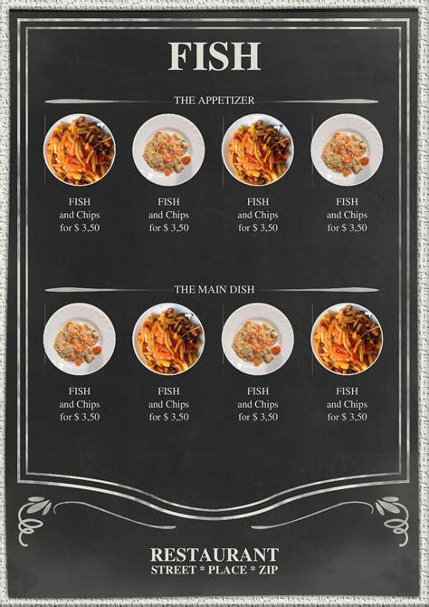speisekarten und menuekarten  school blackboard menu
