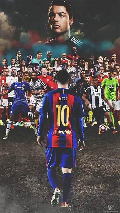 Iphone Messi Ronaldo Lionel Football Cristiano Players