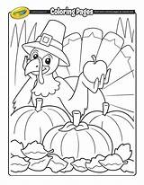 Thanksgiving Coloring Pages Turkey Sheets Printables Activity Printable Cartoon Colouring Crayola Lovely Books sketch template