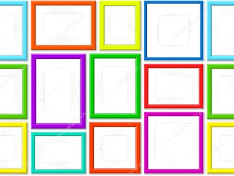 Cornici Colorate Set Di Cornici Colorate Vettoriali Stock 169 Sergt 52748075