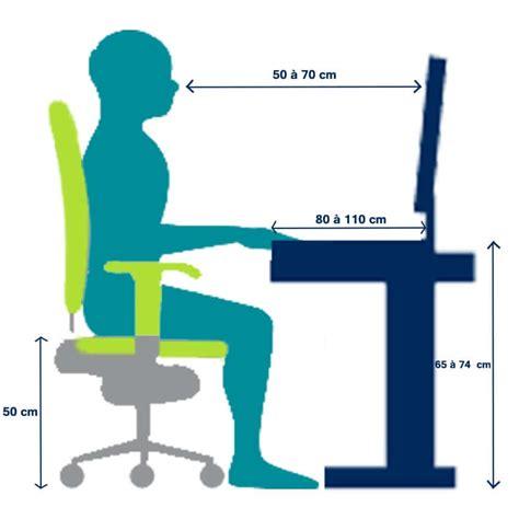 bonne posture au bureau guide d ergonomie de travail de bureau handinorme