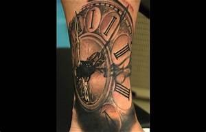 Tatouage Montre A Gousset Avant Bras : tatouage bras temps teuk ~ Carolinahurricanesstore.com Idées de Décoration