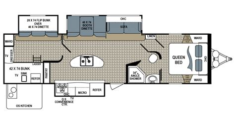 5th Wheel Front Bunkhouse Floor Plans by 5th Wheel Front Bunkhouse Floor Plans Carpet Vidalondon