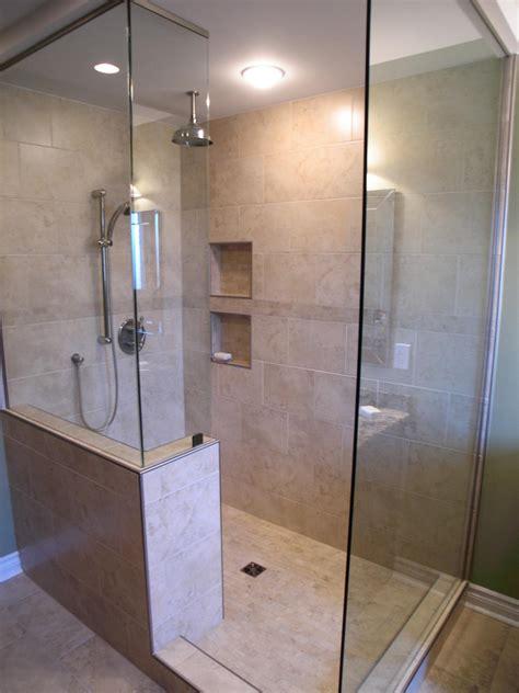 walk  shower ideas home ideas pinterest