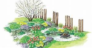 Zum nachpflanzen feuerplatz am steingarten mein schoner for Feuerstelle garten mit bonsai steingarten