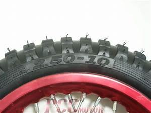 10 U0026quot  Red Front Wheel Ssr Sdg Dirt Bike