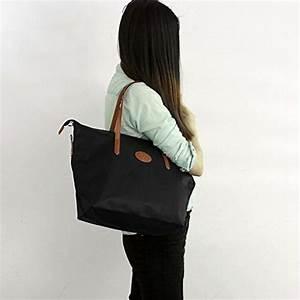 Sac A Main Pour Cours : ecosusi sac de plage nylon sac a main de cour pour femme sac fourre tout sac caba sac pour les ~ Melissatoandfro.com Idées de Décoration