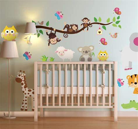 Kinderzimmer Ideen Dschungel by Dschungel Aufkleber Kinderzimmer Baby Kinderzimmer