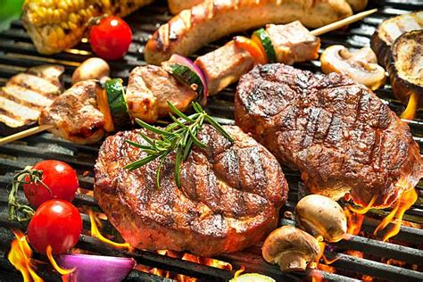 food on grill 10 tips to make your grilling barbecue healthier foodal