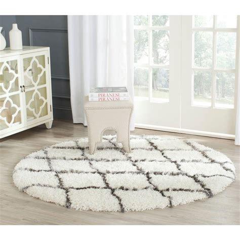 moroccan shag rug safavieh moroccan shag ivory grey 5 ft x 5 ft area