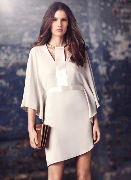 Baltas vakara kleitas: labākās īsās un garās iespējas ar piedurknēm (76 fotogrāfijas)
