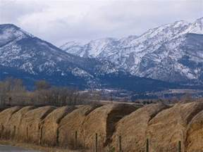 Bitterroot Mountain Range Montana