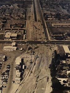 Construction Of The Briggsmore Avenue Expressway Near
