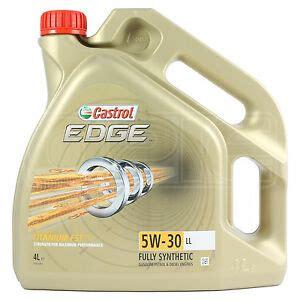 castrol edge motorenöl 5w 30 5l castrol edge titanium fst 5w 30 ll synthetic engine 4 litres 4l 5w30