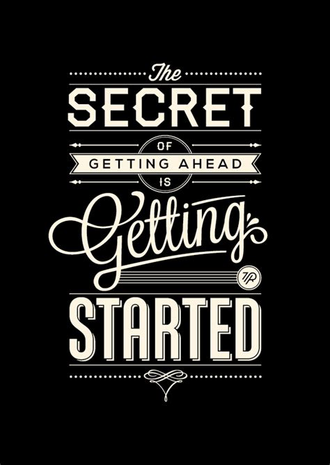 visually compelling typographic illustrations of motivational sayings designtaxi com