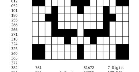 Free Downloadable Puzzle Number Fill In # 2
