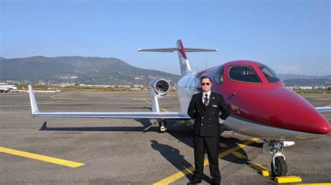 hondajet  life   private jet pilot honda engine room