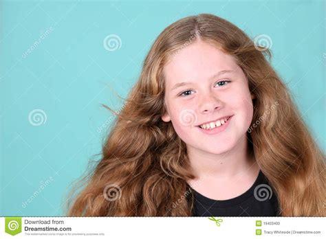 Menina Real Do Preteen Foto De Stock Imagem De Real