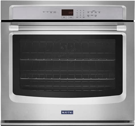 Maytag MEW9530DS 30 Inch Single Electric Wall Oven with 5