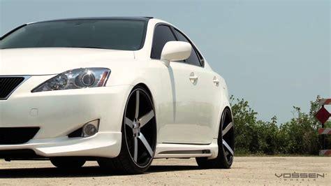 lexus is250 on 20 quot vossen vvs cv3 concave wheels rims