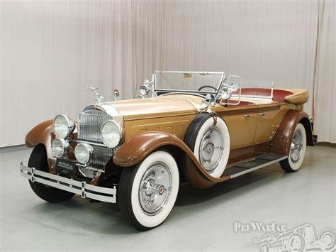Custom Car Companies by 1929 Packard Custom 8 Phaeton Packard Motor Car Company