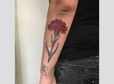 Tatouage Oeillet Rouge Tattoo Art